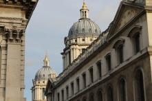 Beautiful domes top the Greenwich, London skyline.