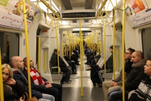 The Tube! The Circle and District lines are what we have used the most often.