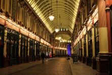 Leadenhall Market, which was the basis for Diagon Alley.