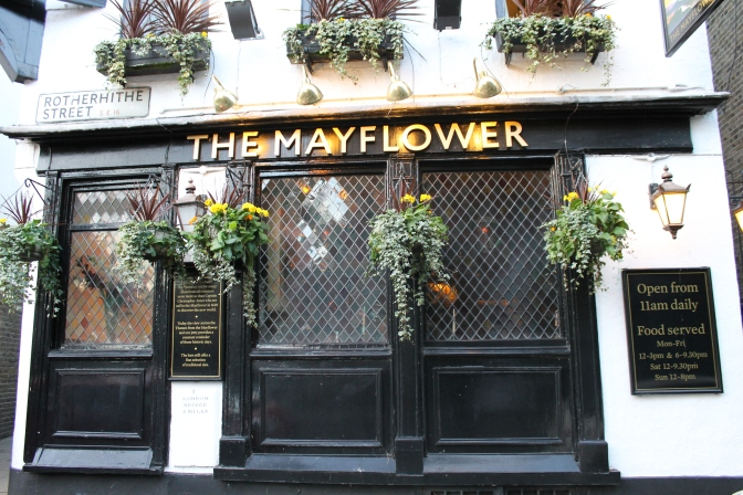 Our new favorite pub. We stumbled across it on a three mile walk along the Thames River this past weekend and were pleased to find we were the only tourists in the place, which was packed.