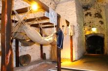 Prisoners of war slept here at Edinburgh Castle during times of conflict.