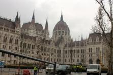Parliament, from afar.