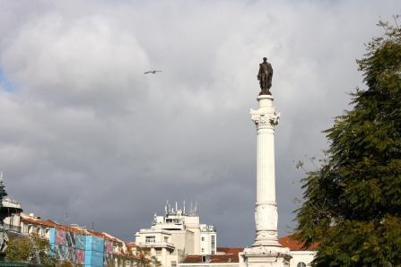 A statue in Lisbon, Portugal.