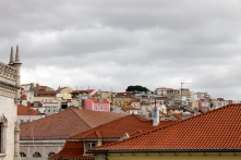 Some of Lisbon's red rooftops.