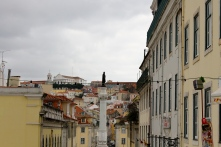 A gorgeous view in Lisbon.