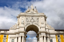 We walked through this gorgeous arch.