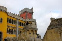 The beautiful Pena Castle.