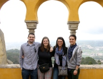 My friends and I in Sintra.