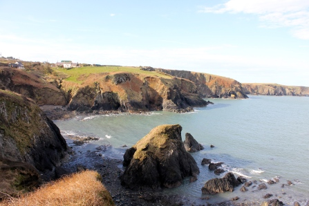 We spent the weekend in Pembrokeshire National Park.