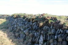 A rock wall to die for.